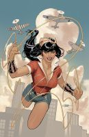 Bombshells United 1 Cover by TerryDodson