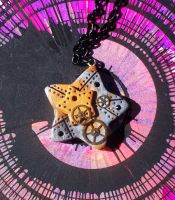 Steampunk Star Necklace by CraftMagic