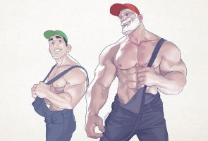 Hunks of the week #72 by silverjow