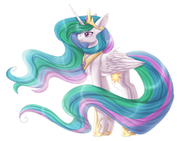 Princess Celestia by InspiredPixels