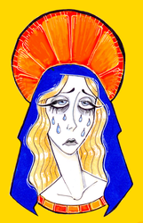 OUR LADY OF SORROWS by knameIess