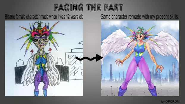 Facing The Past 4 by opcrom