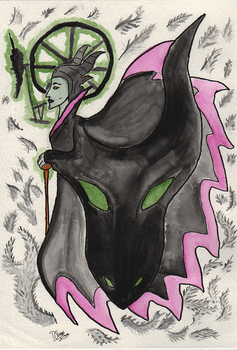 Maleficent by DaemonChrno