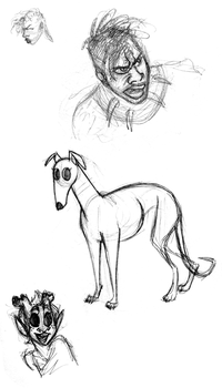 March 2018 Sketchdump by katseartist
