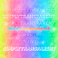 SimplyTransparent Styles by BitchesImAwesome