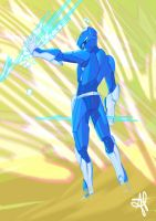 Blue Ranger by alecable