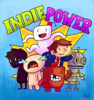 INDIE POWER by RYOTOKUMOTO