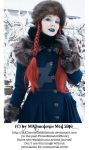 Wintertale Vintage Goth Girl Stock 005 by MADmoiselleMeliStock