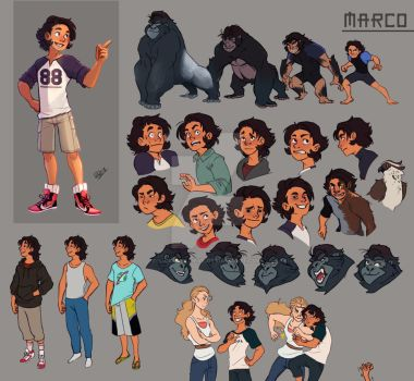 Animorphs Sheet - Marco by vickie-believe
