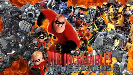 The Incredibles and Transformers by LegoLucas