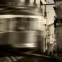 Square Trams 2 by nigel-h