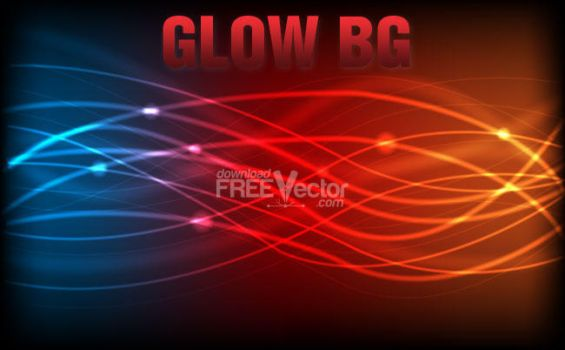Vector Glow Background by downloadfreevector