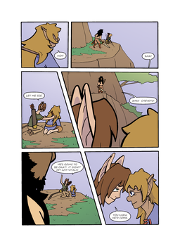 Messenger:  Ch 3 Page 51 by celestrialdarkmoon