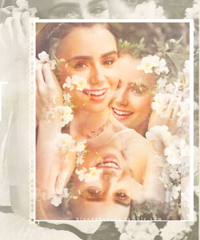 Lily Collins by stareAtyou77