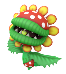 Petey Piranha Tennis Aces Render by Nintega-Dario