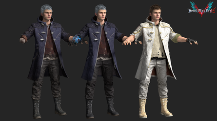 devil may cry 5: nero by rotten-eyed