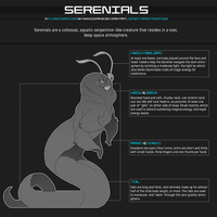 Species Guide: Serenials by Oxxidian