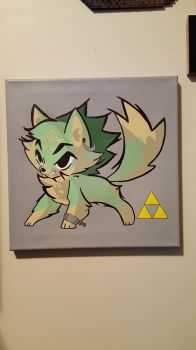 wolf link by demonXeyes