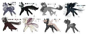 Ranged MLP Adoptions 17.0 :Auction: [Closed] by InspiredPixels