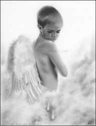 Angel Tears by Katerina-Art
