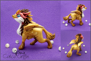 Custom: Ulario the griffiness by CalicoGriffin