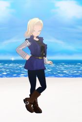 Android 18 by DJAMJR805