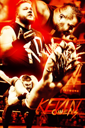 Kevin Owens by A-XDesigner