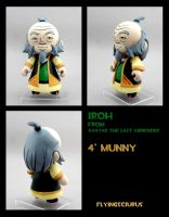 Iroh custom munny by FlyingSciurus