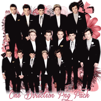 Pack png 248 One Direction by MichelyResources