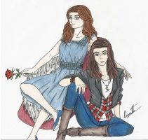 Belle and Ruby by Blackangel94a