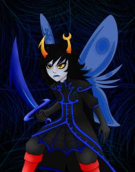 Vriska Serket by j9co