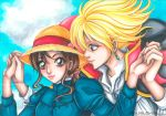 Howl's Moving Castle Fanart - Sophie and Howl by CrisEsHer