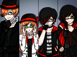 rosewick - torchwick family glasses by doumsnow