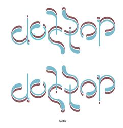 Doctor Ambigram by KeepingYouAwake