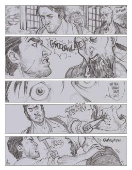 The Evil Within - Zombie fight (part1) by the-evil-legacy