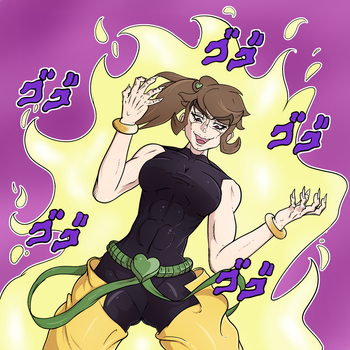 Wazy as DIO by Caboose1994