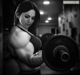 Aspen Rae Pumping Up Nice by Turbo99
