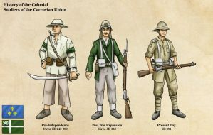 Carrovian Colonial Troops by Avrin-ART