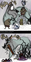Deerclops Vs. The Mac Tusks by Hisscale