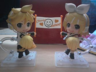Nendoroid Kagamine Support by Yumechan774