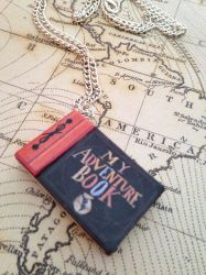 My Adventure Book necklace/keychain inspired by UP by InsaneJellyBean95