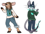 Anthro Adopts - OPEN by Vulpix150