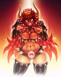 Giga Bowsette! by Mark-MrHiDE-Patten