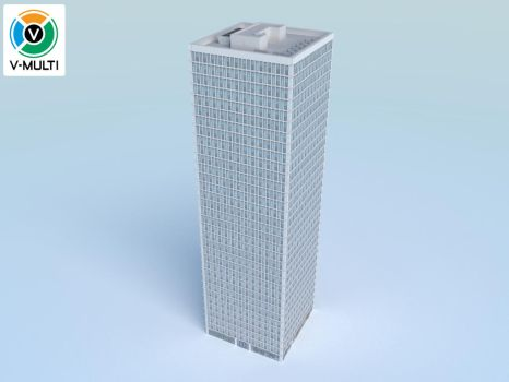 Low Poly Building 4 by V-MULTI