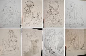 MTAC2 pencil work by evikted