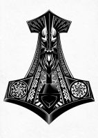 Thors Hammer by AndrewStrauss