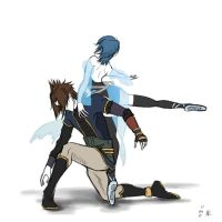 KH: Grand Pas d'Action by soggymuffinhead