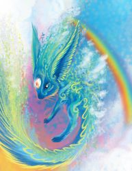 Carbuncle - Rainbow Light by Ultyzarus