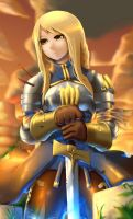 Agrias Oaks :The holy sword by Skello-on-sale