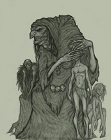 See No Evil: Great Hag concept by OnHolyServiceBound